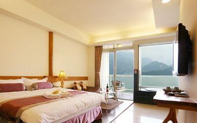 明湖采堤渡假館照片: 房間