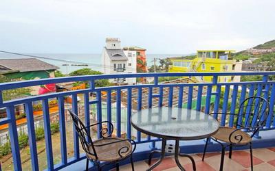 海宿照片: 陽台