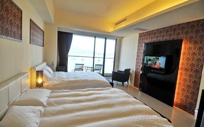 湖悅景觀民宿照片: 房間