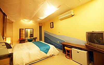 漠麗舍海景民宿照片: 房間
