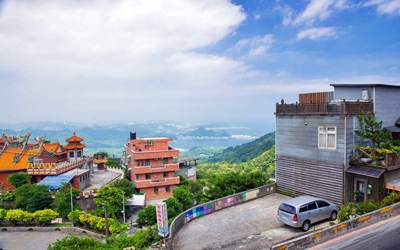 九份蘭櫻居民宿照片: 景觀1