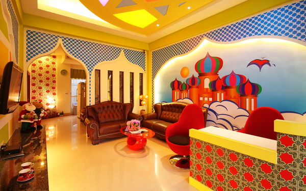 阿里巴巴休閒民宿照片: 客廳
