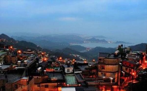 緣憶民宿照片: 夜景觀
