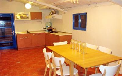 藍白舍海邊渡假民宿照片: 民宿餐廳