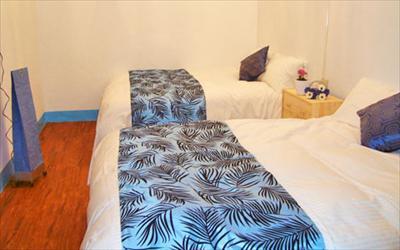 藍白舍海邊渡假民宿照片: 民宿房間
