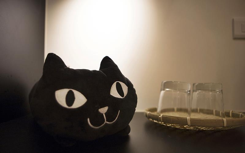 貓庵和洋館照片: 擺飾