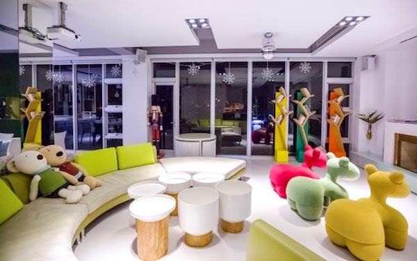 調色盤築夢會館照片: 民宿客廳