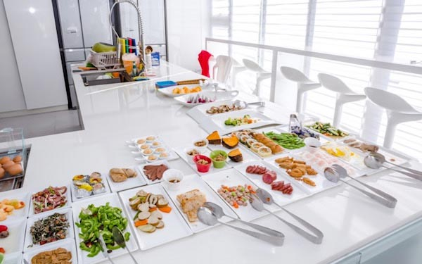 調色盤築夢會館照片: 民宿餐點