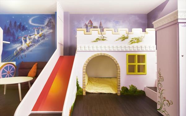 築樂窩照片: 溜滑梯民宿