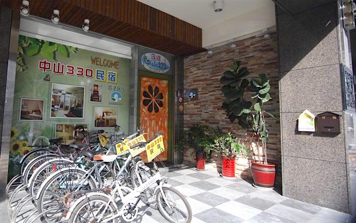 中山330民宿照片: 大門