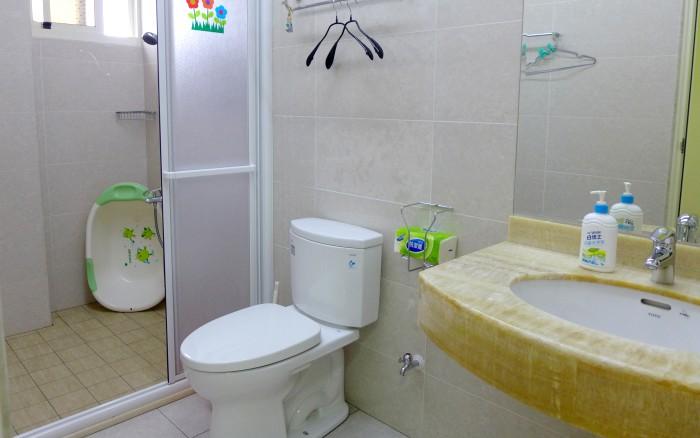 花路米親子庭園民宿照片: 花蓮親子民宿花路米浴室
