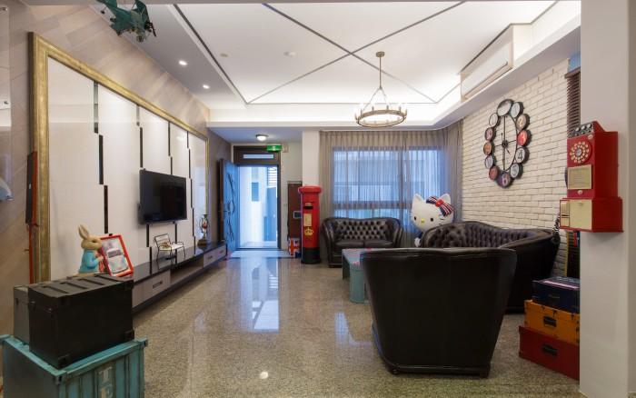 阿里巴巴休閒民宿照片: 花蓮親子民宿阿里巴巴休閒民宿客廳