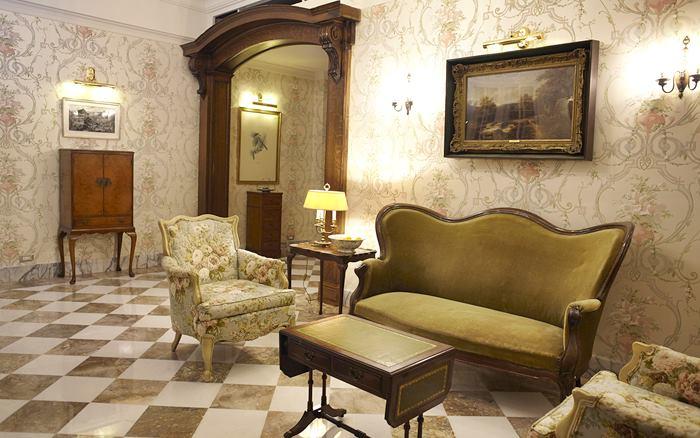 雪雲城堡民宿照片: 大廳