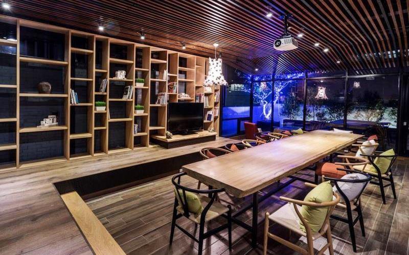 三道門建築文創旅店照片: 公共區域