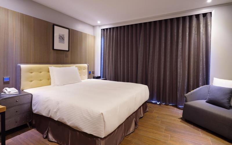 三道門建築文創旅店照片: 雙人房