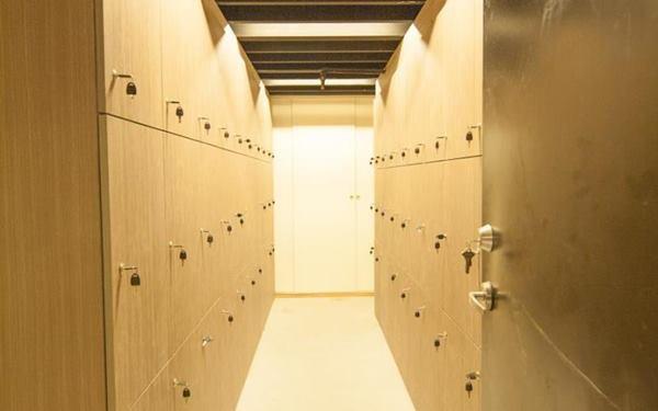 天使青旅(台北西門館)照片: 置物櫃