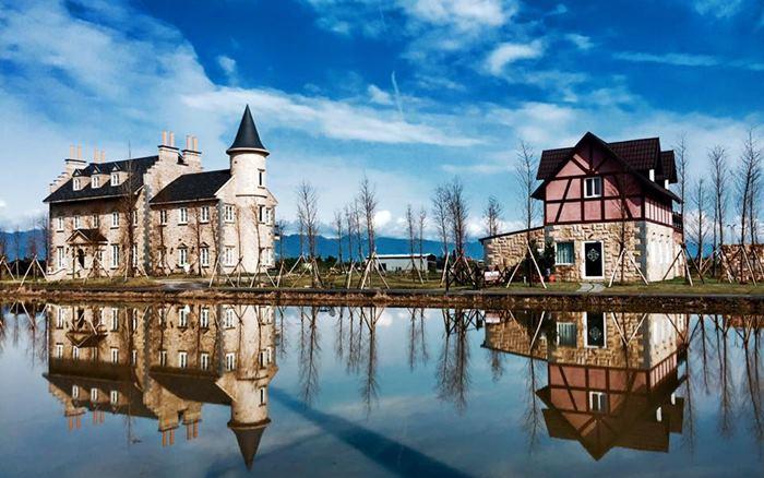 法國小古堡照片: 民宿外觀