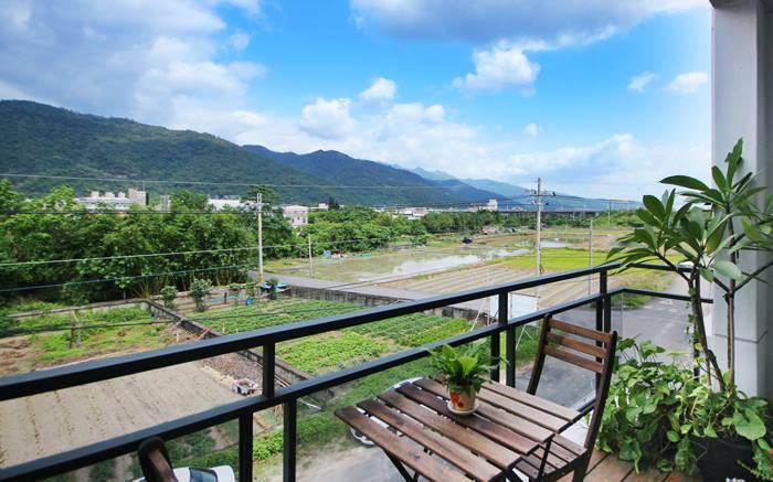 松田民宿照片: 陽台景觀