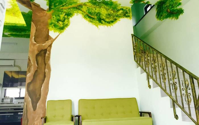 禾田綠野民宿照片: 大廳