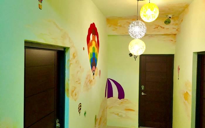 禾田綠野民宿照片: 走廊