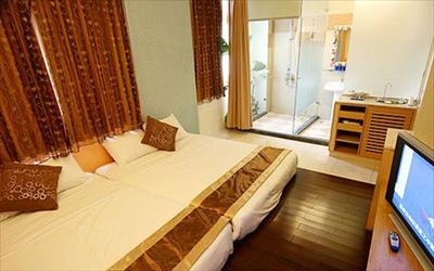 水社海渡假民宿照片: 民宿房間03