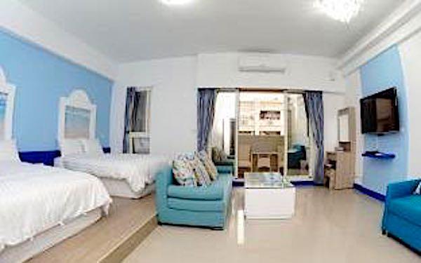 東港藍仰坊民宿照片: 房間