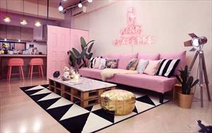 Pink Flatette 平克弗雷特