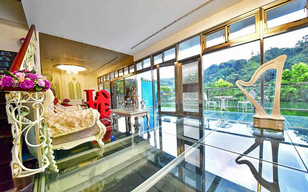 日月潭民宿「讚美之泉心靈城堡」環境照片