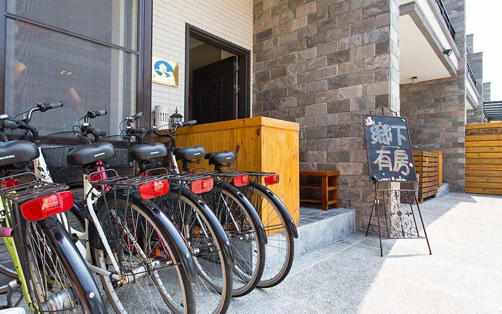 台南民宿「鄉下有房」環境照片