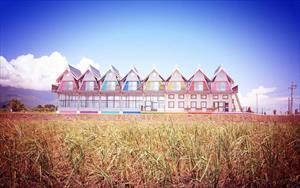 「天空島上的小木屋」主要建物圖片
