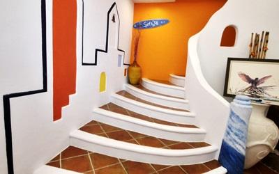 龍園居照片: 希臘館 一樓圓環樓梯