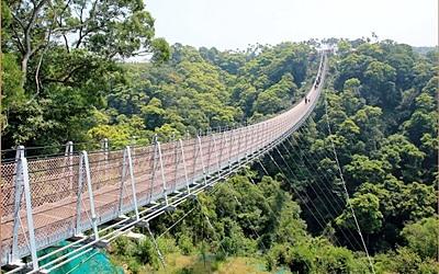 猴探井遊憩區(天空之橋)照片: CR=「小兔小安旅遊札記」