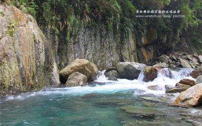 金岳瀑布照片: CR=「冠頭」BLOG
