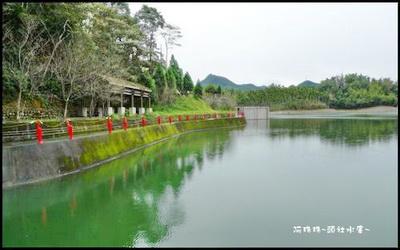 頭社水庫照片: CR=「阿珠珠的旅遊部落格」