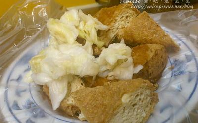 阿泉臭豆腐、大腸麵線照片: CR=「愛吃鬼芸芸」BLOG