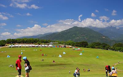 鹿野高台飛行傘區照片: CR=「轉角的吃喝玩樂」