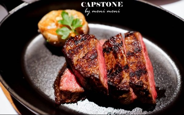 Capstone Steakhouse照片: CR=「moni」BLOG