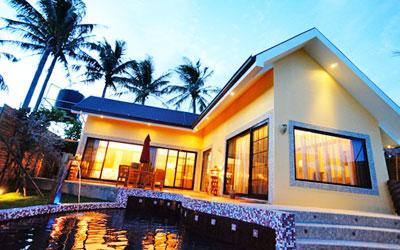 在一個快樂的地方,蓋一些有個性的房子,給一些喜歡的人渡假....