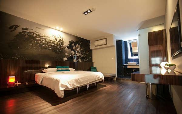 簡約,明亮的設計風格,佈置溫馨,舒適的客房,一樣享有回家般的感受!