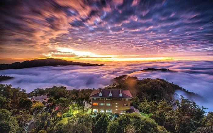 誰說雲海只存在阿里山?一個讓你忘卻俗世煩惱的人間仙境~雲洞山莊