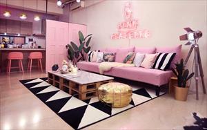 靡生二館 - Pink Flatette