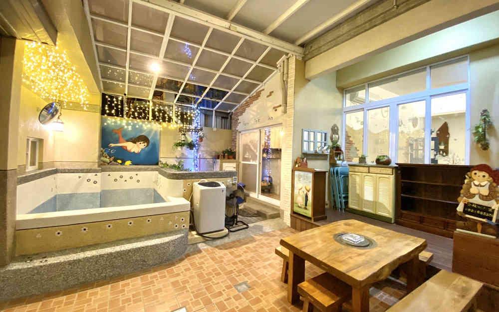 全新包棟民宿/歐式鄉村風格 提供卡拉OK/親子房溜滑梯盪鞦韆溫水戲水池