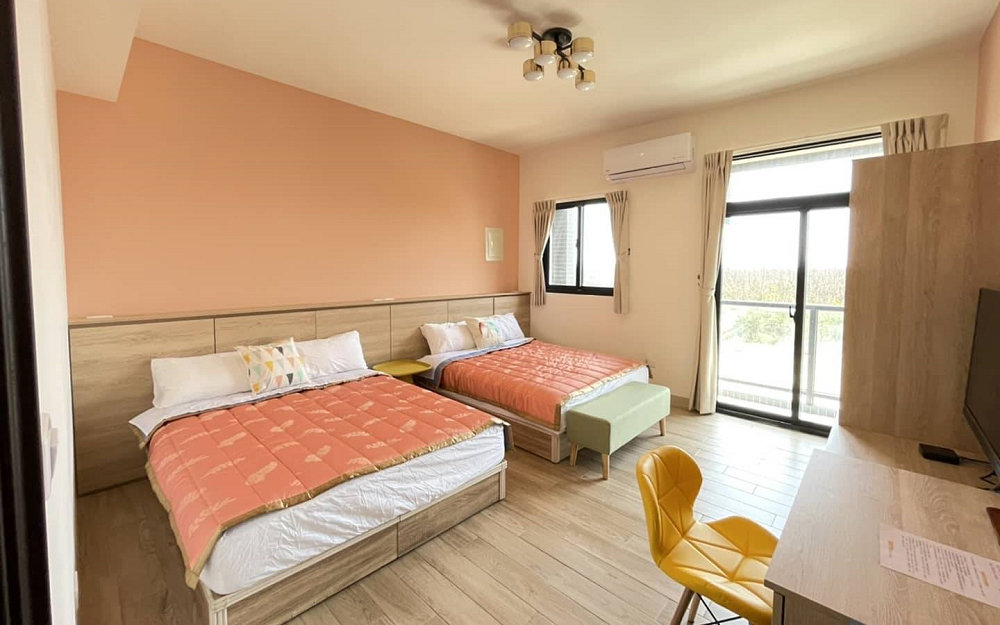 澎湖全新的別墅型民宿,離近機場,位置方便去往馬公市區及其他觀光景點